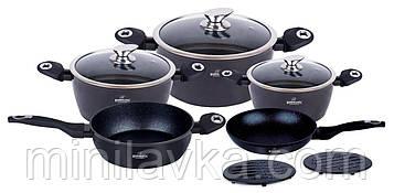 Набор посуды Bohmann BH 40 BLACK 10 предметов