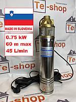 Насос глубинный 4SKM-100 0.75 кВт VODOMET Водяной вихревой насос для воды для скважин