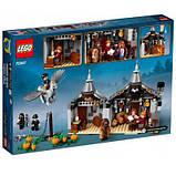 Конструктор LEGO Harry Potter Хатина Геґріда: порятунок Клювокрыла 496 деталей, фото 5