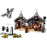 Конструктор LEGO Harry Potter Хатина Геґріда: порятунок Клювокрыла 496 деталей, фото 3