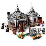 Конструктор LEGO Harry Potter Хатина Геґріда: порятунок Клювокрыла 496 деталей, фото 4