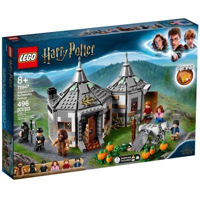 Конструктор LEGO Harry Potter Хатина Геґріда: порятунок Клювокрыла 496 деталей