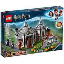 Конструктор LEGO Harry Potter Хижина Хагрида: спасение Клювокрыла 496 деталей