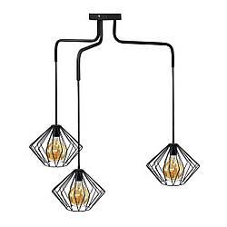 Люстра подвесная в стиле лофт на три плафона MSK Electric NL 13023-3