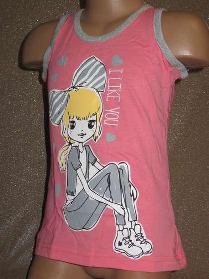 Набір домашнього одягу шортики з маєчкою для дівчинки