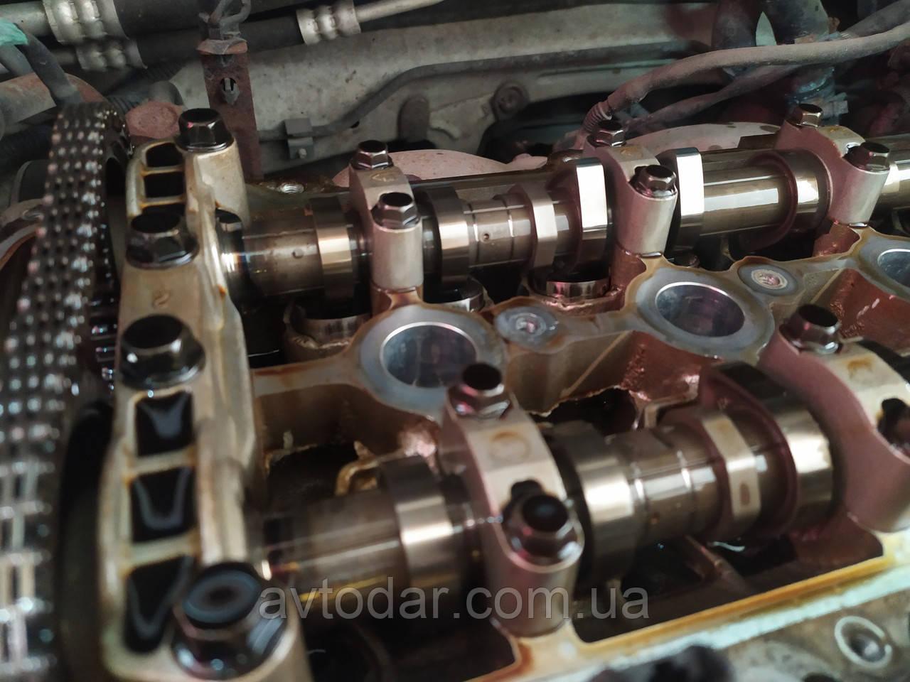 Регулювання теплових зазорів клапанів Geely Emgrand (EC7)