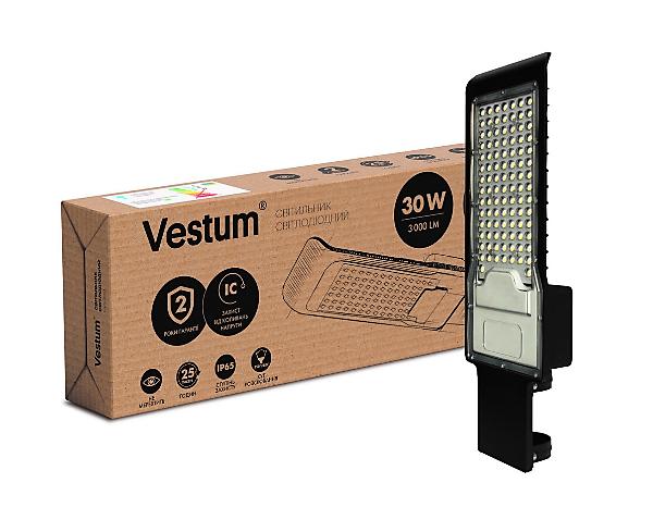 Светильник консольный LED Vestum 30W 3000Лм IP65