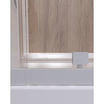 Набір Qtap двері в нішу Pisces WHI208-9.CP5 + піддон Unisquare 309915, фото 3