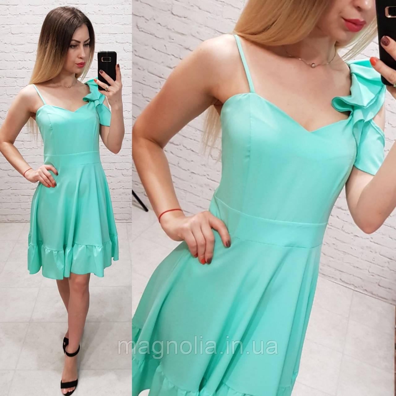 Платье асимметрия арт. 164 бордо / вишня / марсала