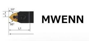 MWLNR2525M08 Різець прохідний (державка токарна прохідна), фото 2