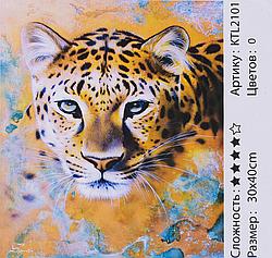 Картина по номерам KTL 2101 (30) 30х40 см Рысь