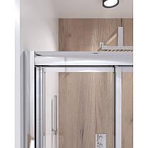 Набір Qtap двері в нішу Uniford CRM208.C4 + піддон Unisquare 308815, фото 2