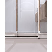 Набір Qtap двері в нішу Uniford CRM208.C4 + піддон Unisquare 308815, фото 3
