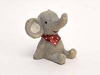 Фигурка Слоник сидит керамика