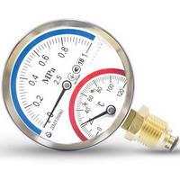 Термоманометр ДМТ 05080 - 1,6 МПа - 0-120 °С - 2,5 (R)