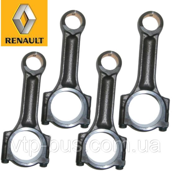 Шатуны (4 шт) на Renault Trafic / Opel Vivaro 1.9dCi (2001-2006) Renault (оригинал) 7701476250