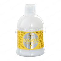 Шампунь для укрепления волос с экстрактом банана - Kallos Banana Shampoo 1000ml (Оригинал)