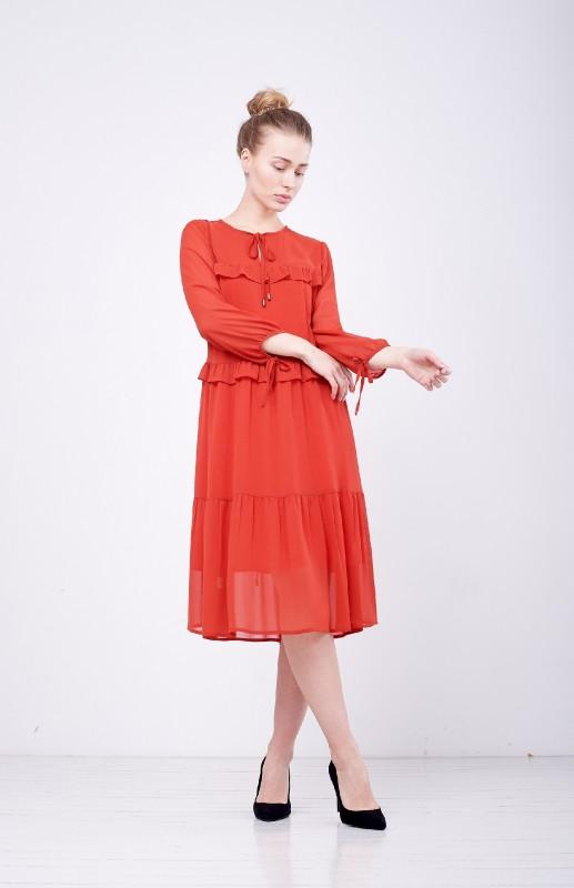 Платье женское Маруф терракот PARI MKPR265-19О