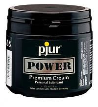 Густая смазка для фистинга и анального секса pjur POWER Premium Cream 500 мл на гибридной основе