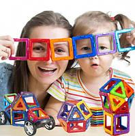 Магнитный конструктор детский 36шт, 3D констуктор магнитный фигуры, Конструктор для детей 36 деталей