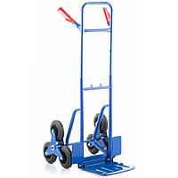 Транспортная тележка лестничная ручная грузовая Siker до 250 кг для лестницы с выдвижной ручкой