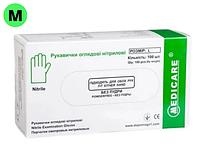 Перчатки латексные НЕопудренные Medicare (Размер M)