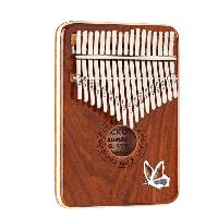 Калимба Gecko K17SD профессионалный музыкальный инструмент - Коричневый
