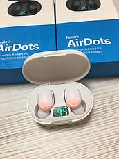 Беспроводные Bluetooth наушники Redmi AirDotspro с кейсом Белые, фото 2