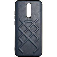 Чехол Jesco Leather для Xiaomi Redmi 8a Blue