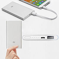 Павербанк Супер тонкий Power Bank Xiaomi Mi Slim 12000 mAh (серый)