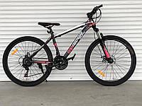 """Велосипед гірський TopRider-611 колеса 26"""", рама 17"""", рожевий, фото 1"""