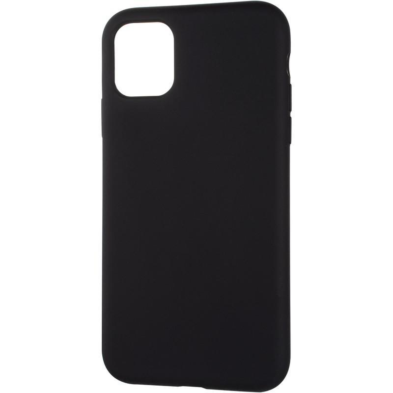 Чехол Original Full Soft для iPhone 11 Black (без логотипа)