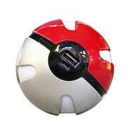 Повер банк 10000 mAh Power Bank Pokemon Go   внешний аккумулятор   портативное зарядное устройство Покебол