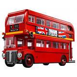Конструктор LEGO Creator Expert Лондонській автобус 1686 деталей, фото 5