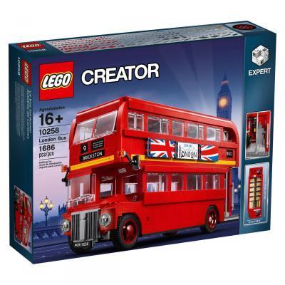Конструктор LEGO Creator Expert Лондонській автобус 1686 деталей