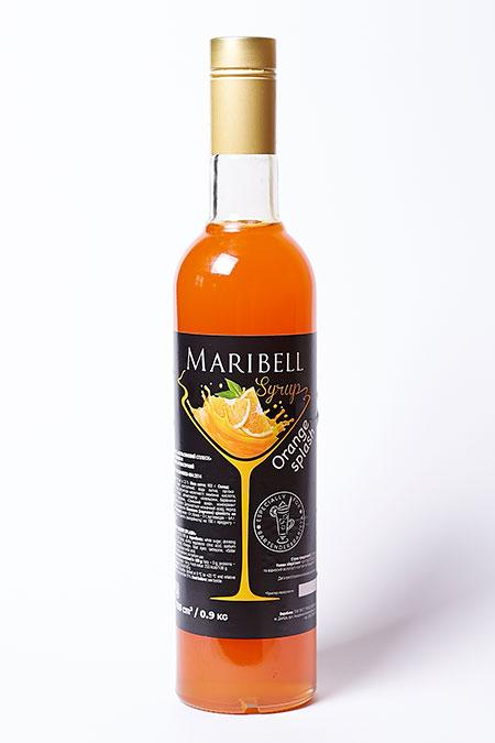 Сироп Апельсиновий Сплеск Maribell 900 г