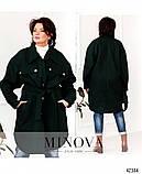 Привлекательное пальто большого размер: 48-50,52-54,56-58, фото 5