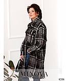 Привлекательное пальто большого размер: 48-50,52-54,56-58, фото 2