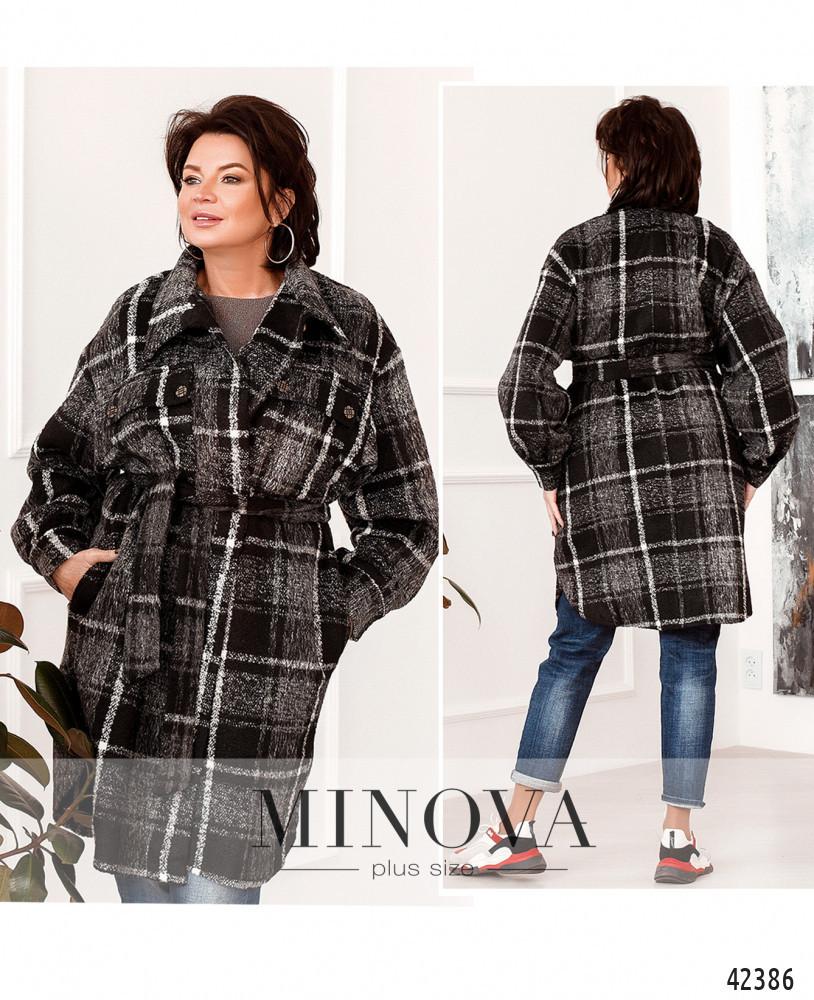 Привлекательное пальто большого размер: 48-50,52-54,56-58