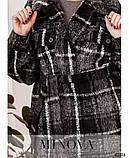 Привлекательное пальто большого размер: 48-50,52-54,56-58, фото 3