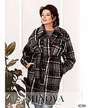 Привлекательное пальто большого размер: 48-50,52-54,56-58, фото 4
