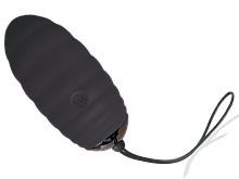 Виброяйцо Adrien Lastic Ocean Breeze Black с пультом ДУ, 10 режимов работы