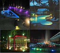 Светильник подводный для фонтана K-3301 LED 12W RGB 12V размер 160мм*195мм IP68, фото 3