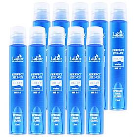 Филлер для восстановления поврежденных волос с эффектом ламинирования La'dor Perfect Hair Filler 10 шт