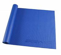 Коврик, мат для йоги и фитнеса SportVida Pvc 4 мм SV-HK0051 Blue SKL41-162839