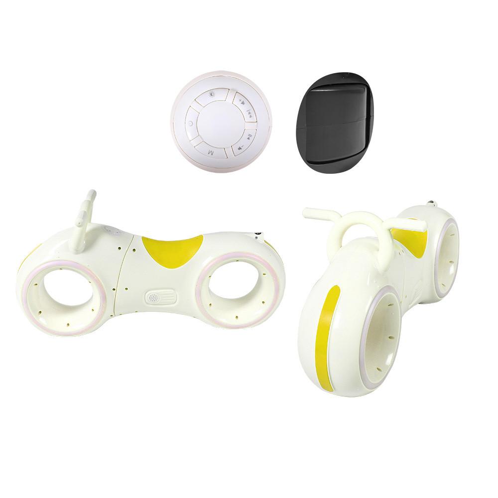 Беговел GS-0020 White/Yellow Bluetooth LED-підсвічування кор./1/