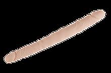 Фаллоимитатор двойной Alive Twins размер S, гибкий, диаметр 2,7см - 3,1см, длина 30см