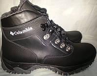 Ботинки подростковые кожаные зимние COLUMBIA бд-3