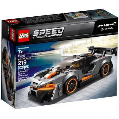 Конструктор LEGO Speed Champions Автомобіль McLaren Senna 219 деталей