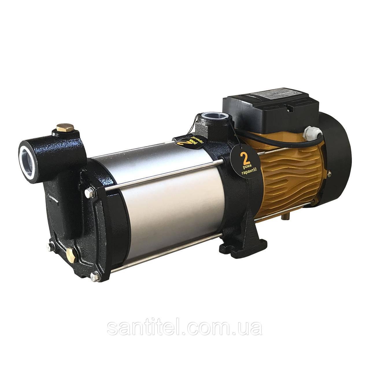Насос центробежный многоступенчатый  Optima MH-N 1300INOX 1,3кВт нерж, колеса